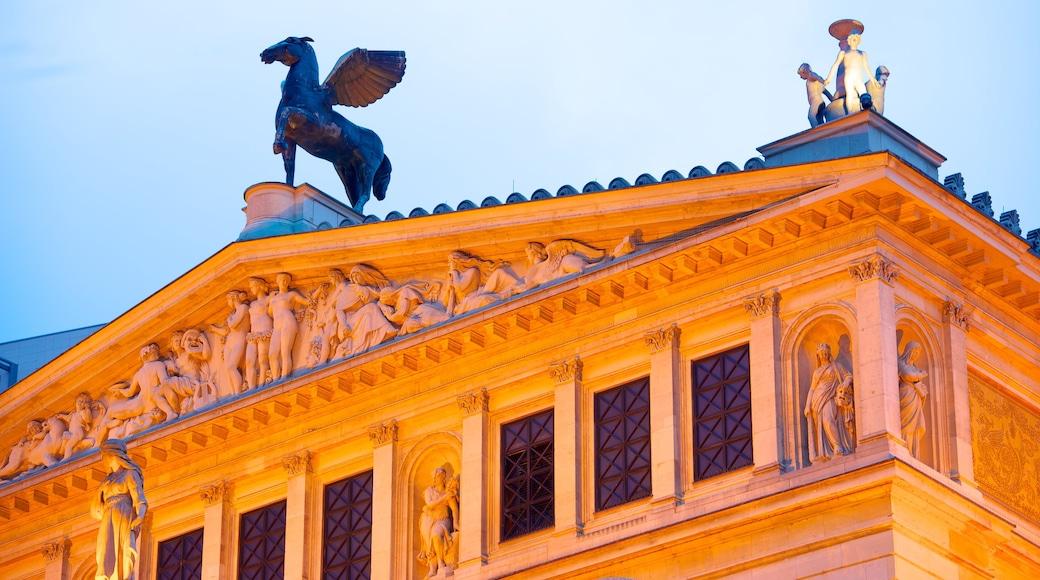 Alte Oper Frankfurt das einen Stadt und historische Architektur
