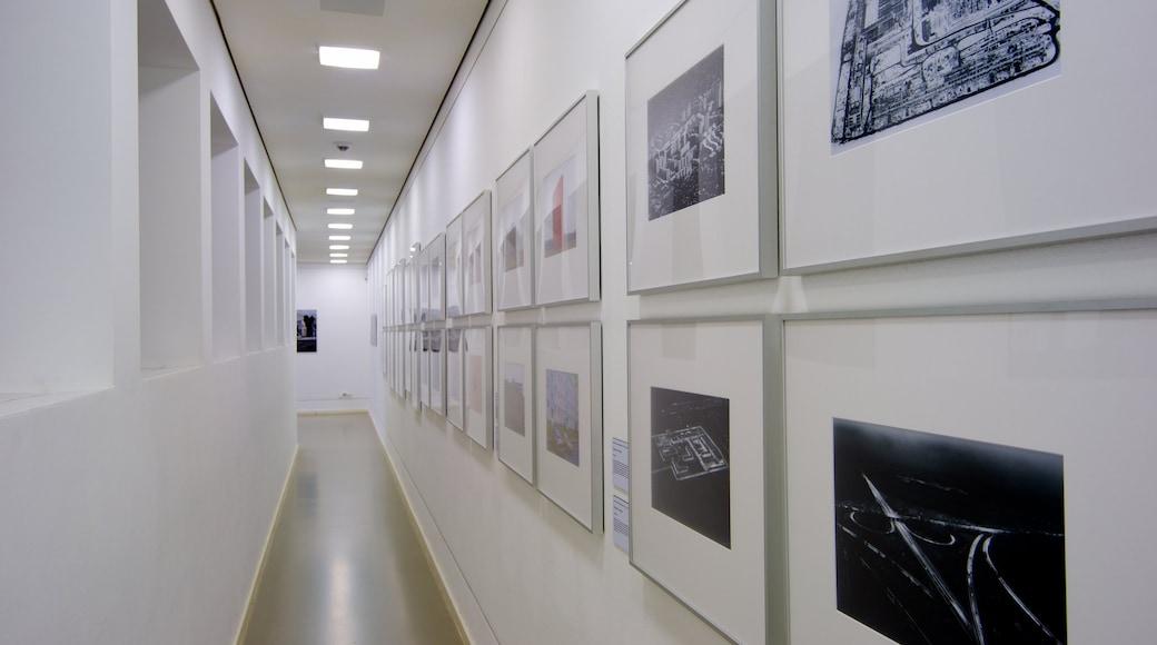 German Architecture Museum featuring interior views
