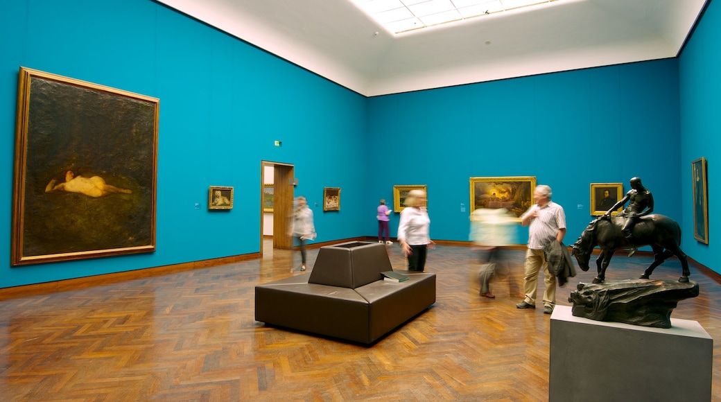 Städel Museum caratteristiche di arte e vista interna
