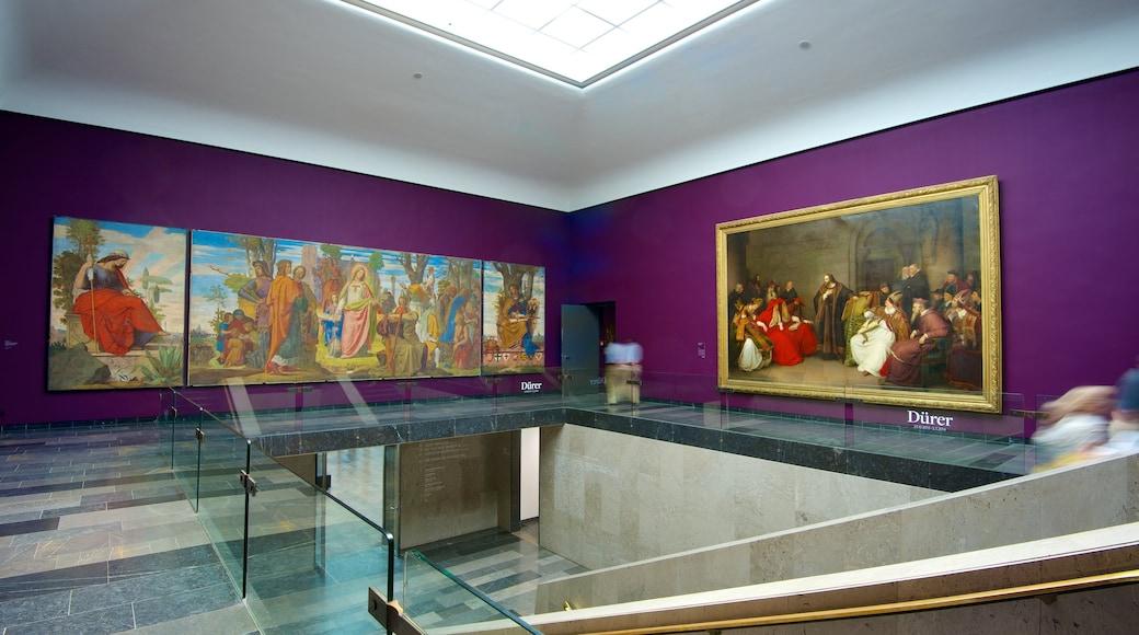 Museu Städel caracterizando vistas internas e arte