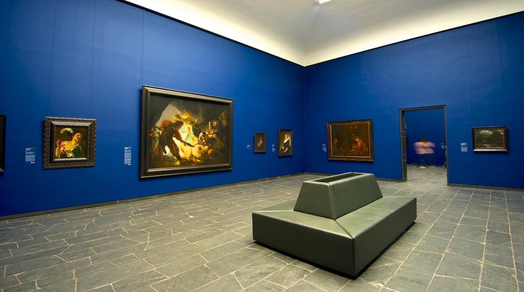 Museu Städel que inclui arte e vistas internas