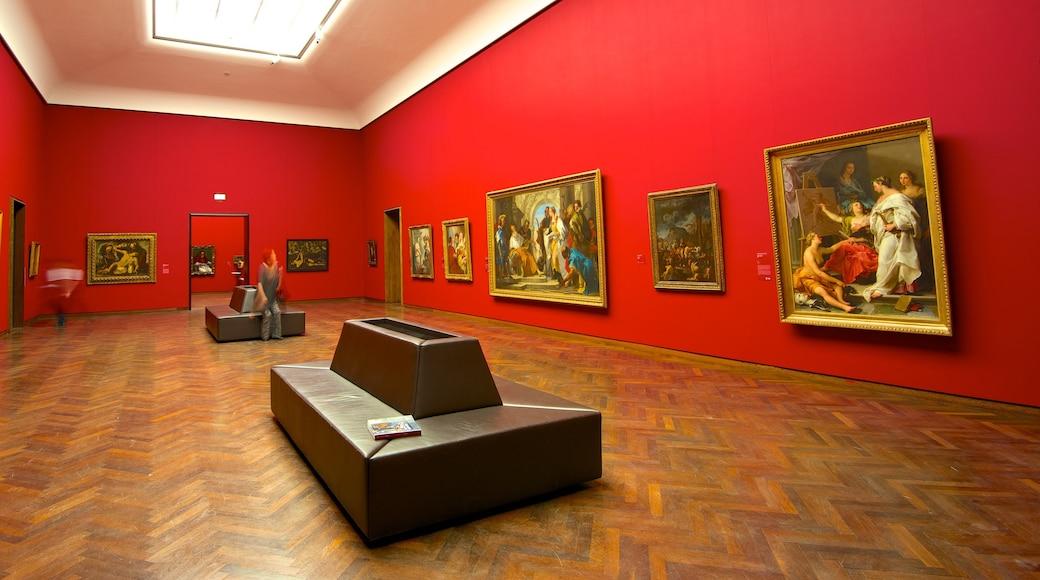 Museu Städel caracterizando vistas internas