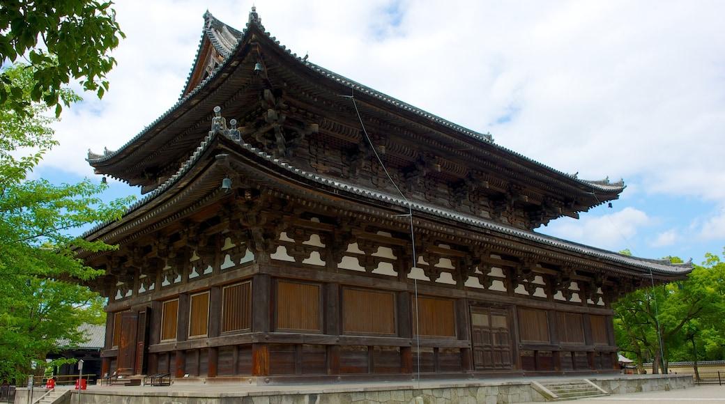 วัด Toji เนื้อเรื่องที่ มรดกทางสถาปัตยกรรม, แง่มุมทางศาสนา และ วัดหรือสถานที่เคารพบูชา