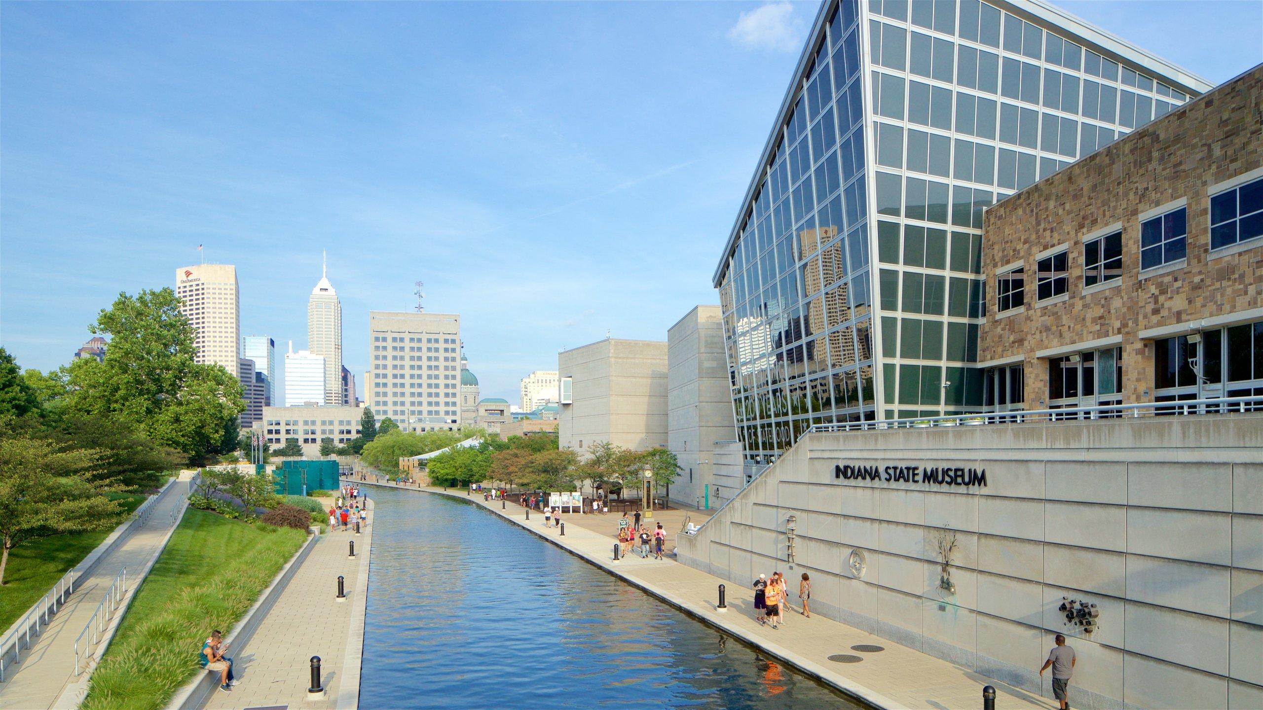 Centrum van Indianapolis, Indianapolis, Indiana, Verenigde Staten