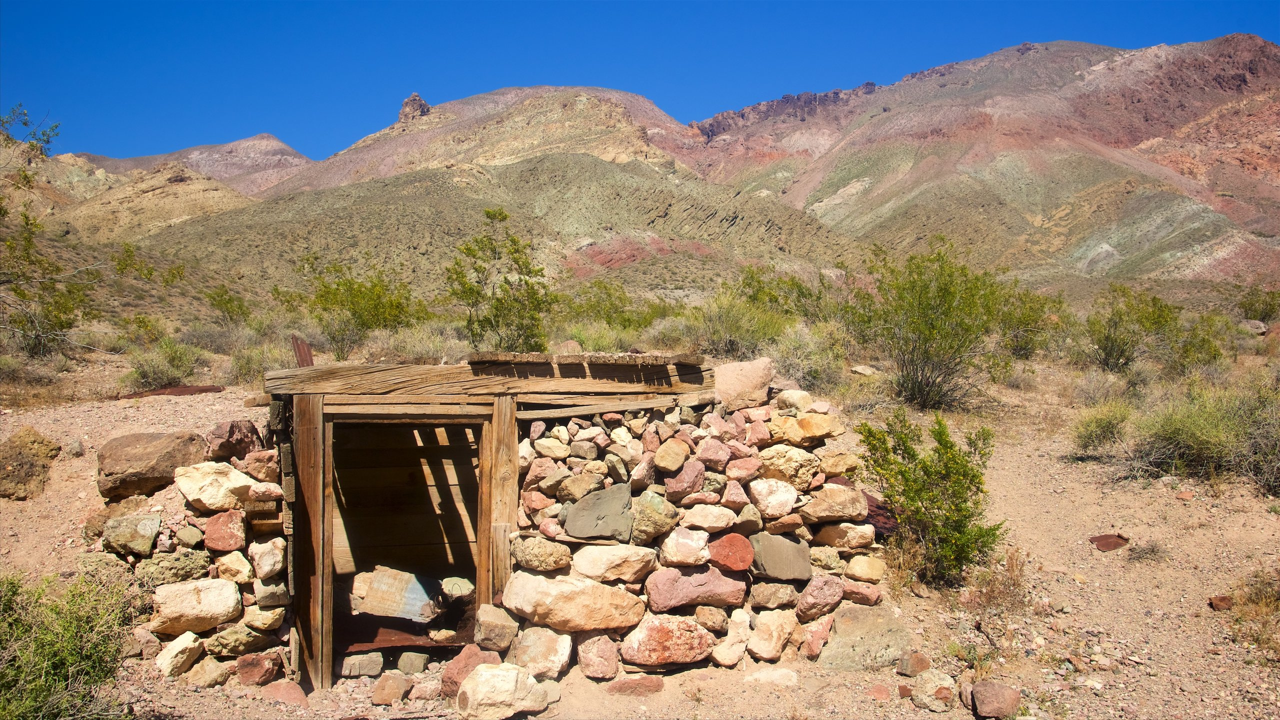 Perched above Titus Canyon, this boom-and-bust mining town has the dubious honor of being one of the West's most short-lived.