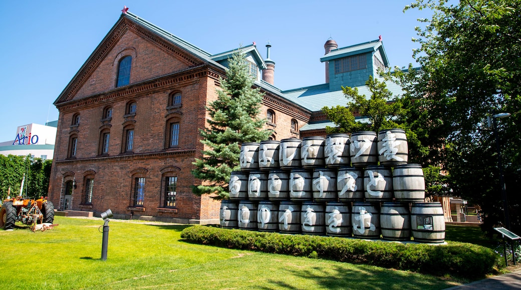 Sapporo Beer Museum showing heritage elements