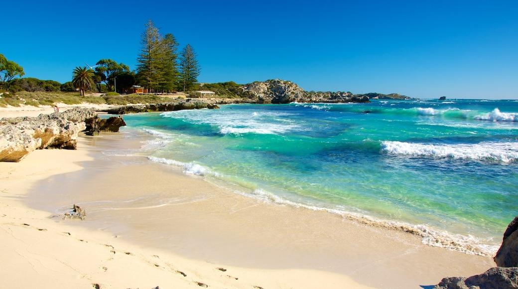 Perth que incluye una playa