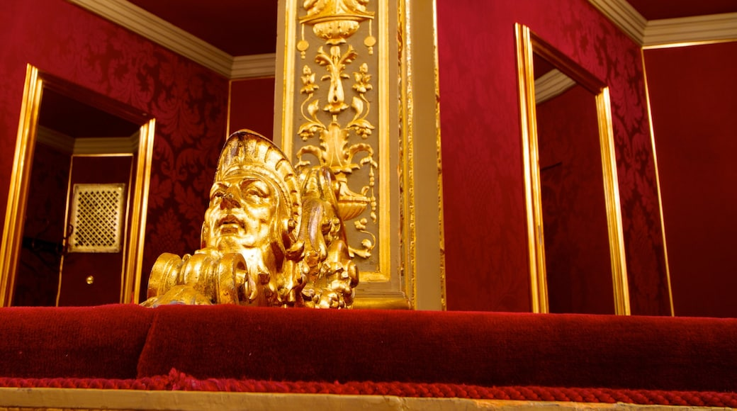 Hungarian State Opera House which includes interior views and theatre scenes