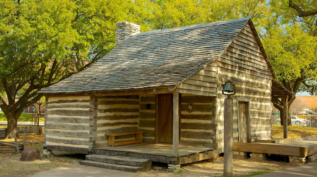 Dallas Heritage Village which includes a house and a small town or village