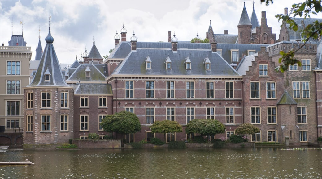 Binnenhof showing heritage architecture
