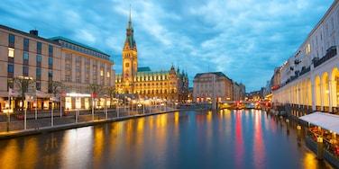 Stadtzentrum von Hamburg, Hamburg, Deutschland