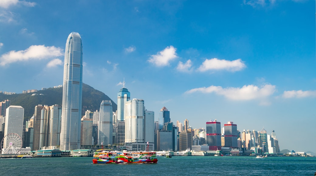 Hong Kong SAR which includes a city and a bay or harbor