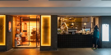 Taikoo featuring cafe scenes and interior views as well as a couple