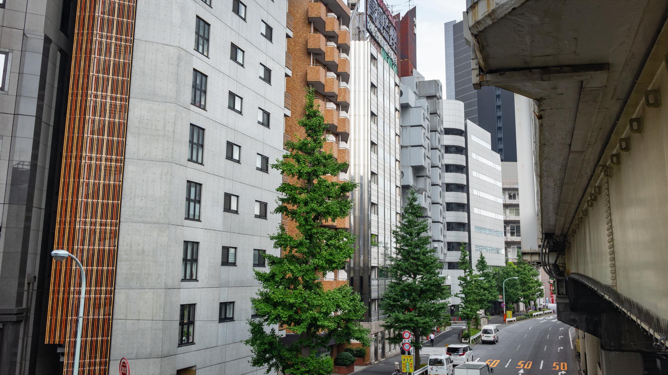 Nakagin Capsule Tower, Tokyo, Tokyo Prefecture, Japan