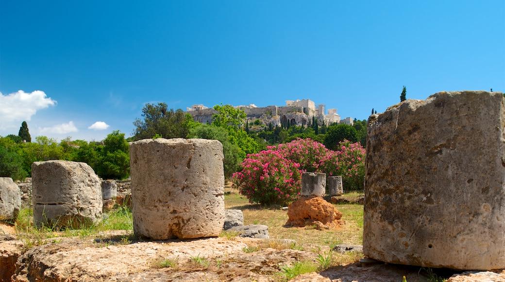 Antike Agora von Athen