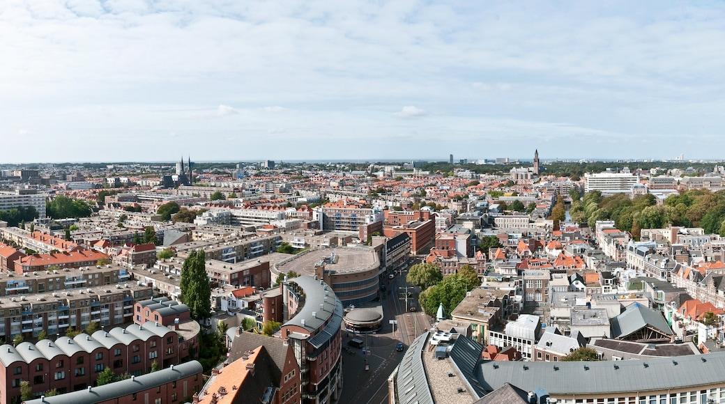 A Haia mostrando uma cidade