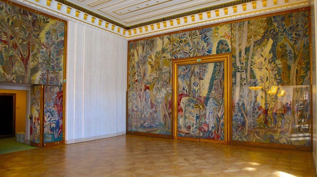 Wiener Staatsoper das einen Innenansichten und Kunst
