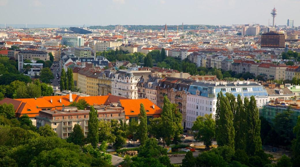 Wiener Prater toont een stad