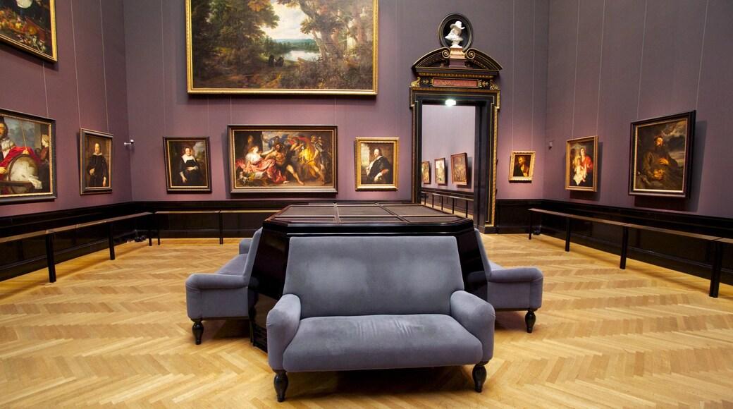 Kunsthistorisches Museum das einen Innenansichten und Kunst