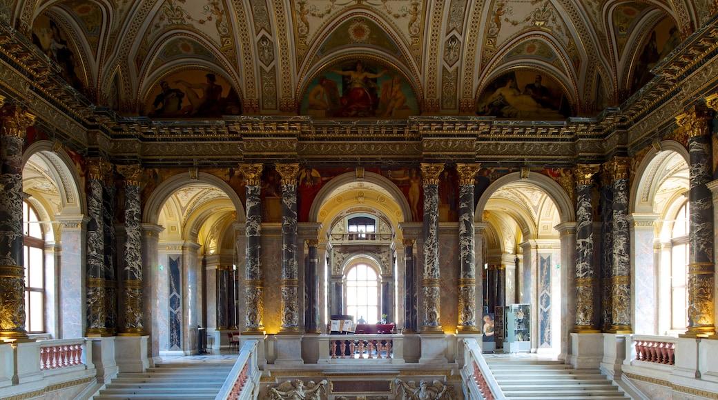 Kunsthistorisches Museum inclusief kunst, interieur en historische architectuur