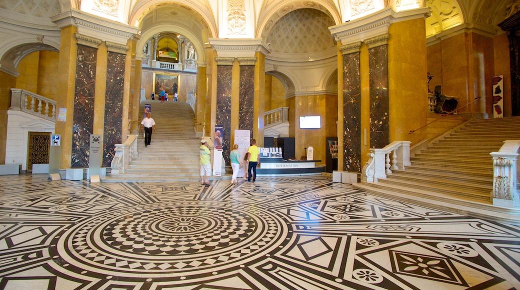 Museu de História Natural toont interieur