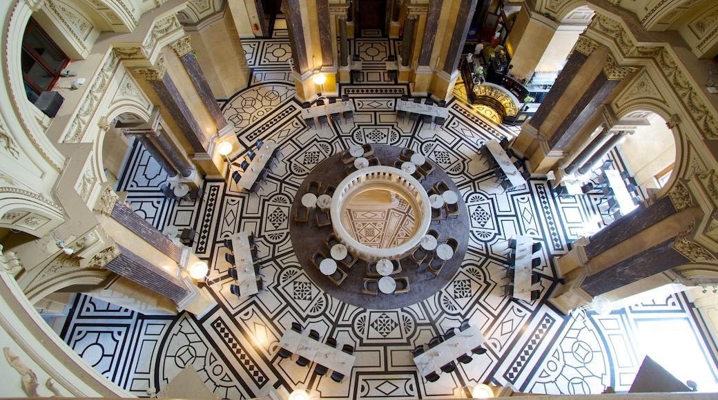 Museu de História Natural bevat historische architectuur en interieur