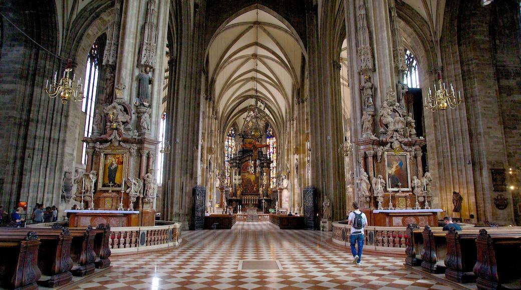 Stephansdom toont religieuze aspecten, historisch erfgoed en interieur