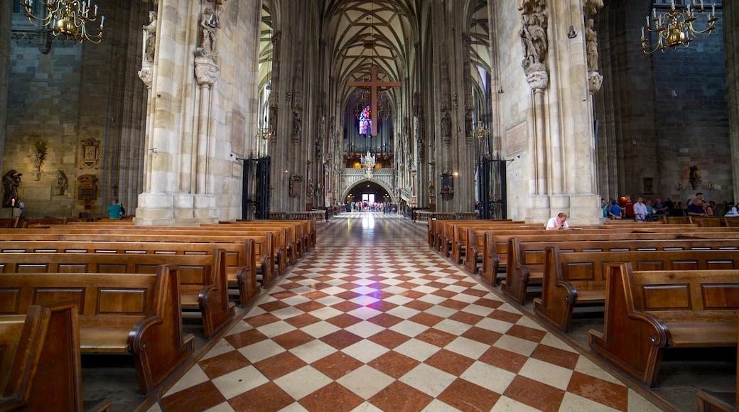 Stephansdom das einen Kirche oder Kathedrale, religiöse Aspekte und Innenansichten