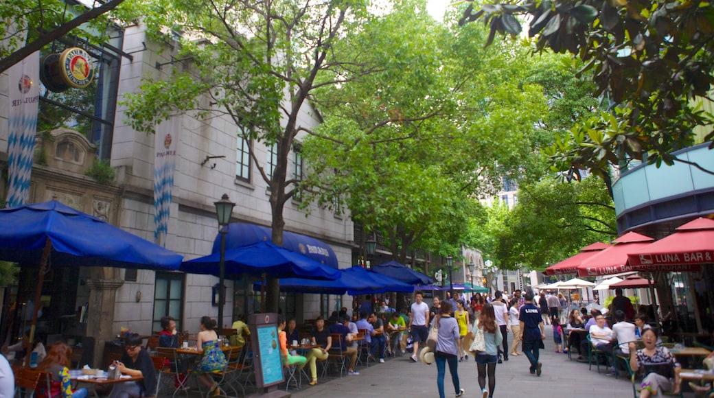 新天地 其中包括 咖啡文化環境, 戶外用膳 和 酒吧