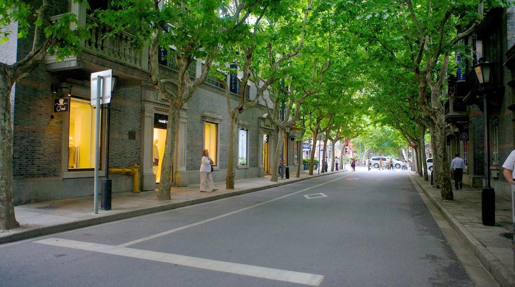 新天地 其中包括 街道景色 和 城市