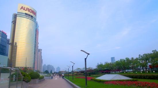 浦东滨江大道和公园