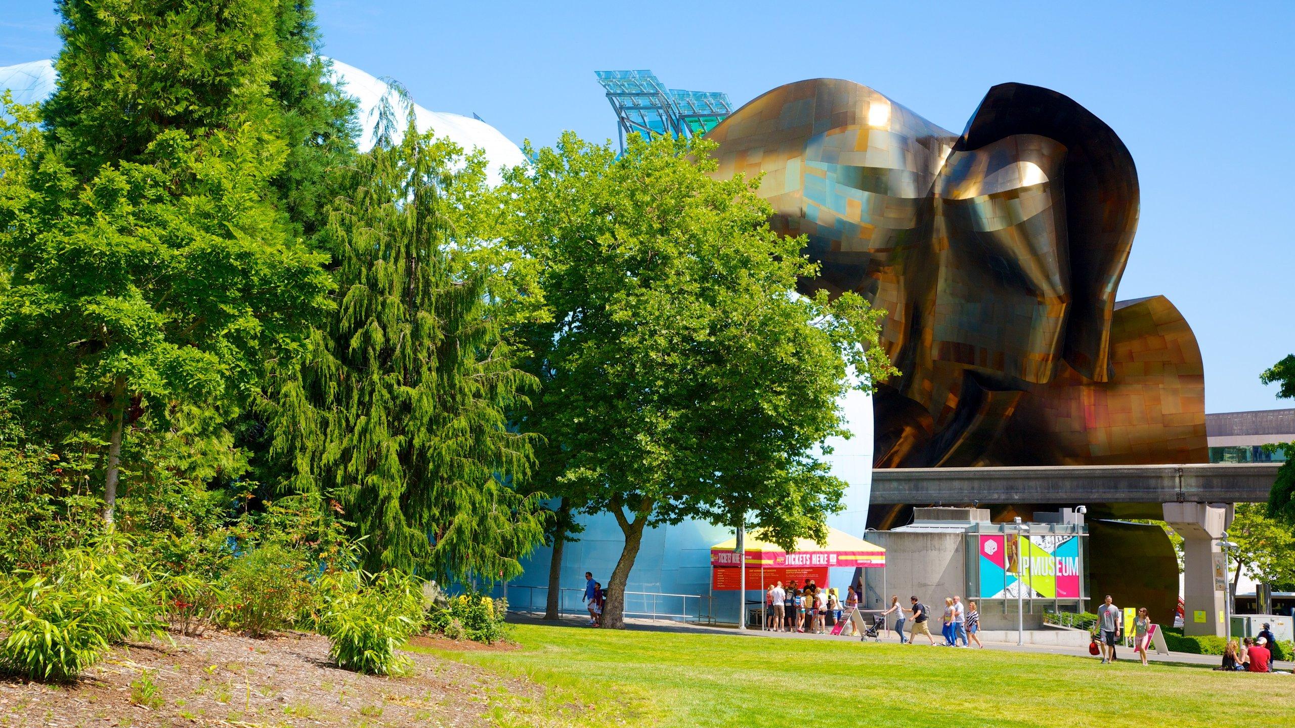 Dette kulturelle distriktet er et produkt av World Fair som ble arrangert her i 1962 og er det stedet i Seattle der du er garantert å finne sport, teater, film og utmerkede restauranter.