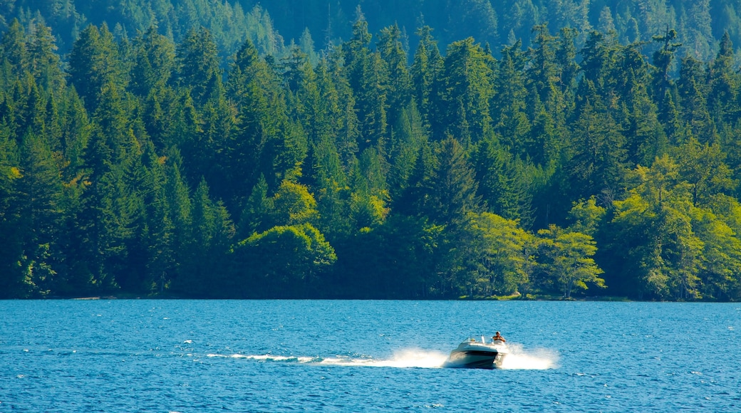 Washington featuring boating, a lake or waterhole and landscape views