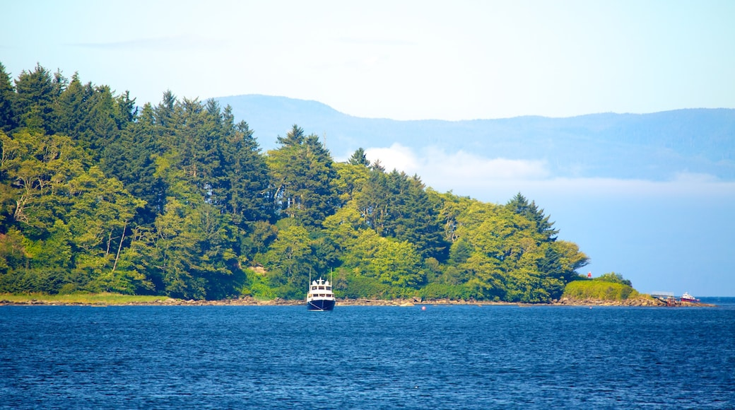 Neah Bay which includes a lake or waterhole, landscape views and a bay or harbour