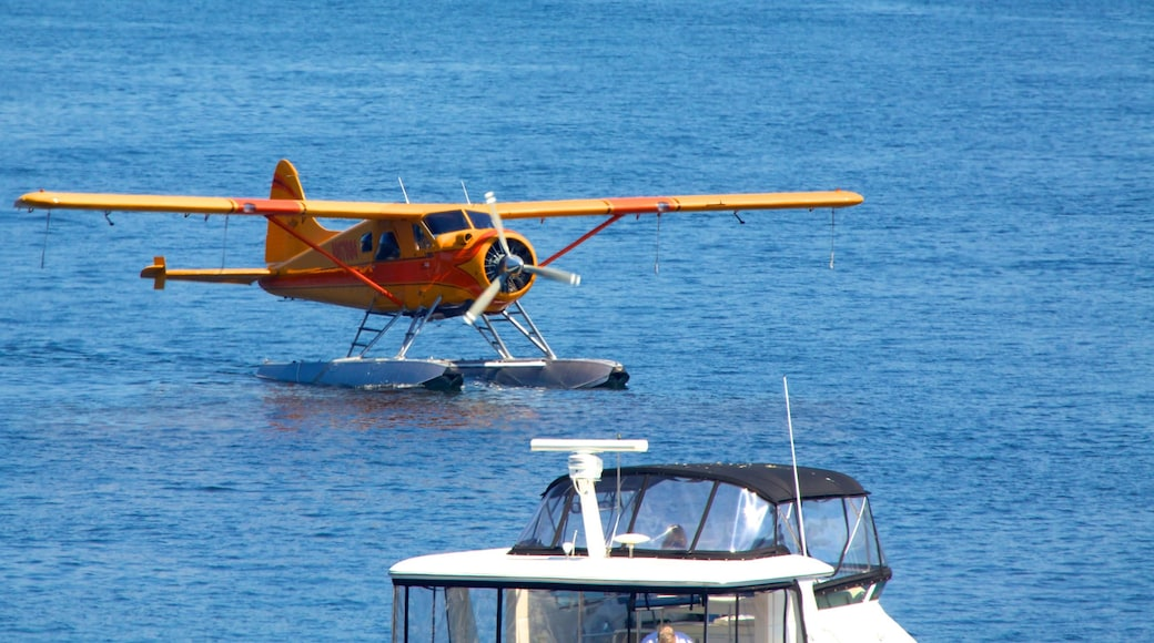 San Juan Island which includes aircraft, boating and an aircraft