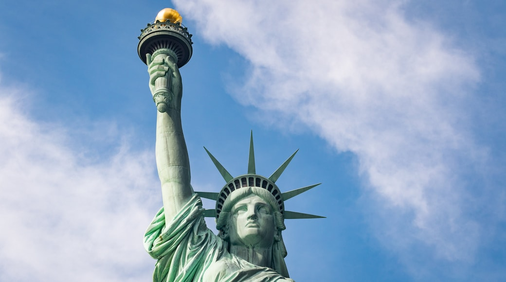 Statue of Liberty featuring a monument