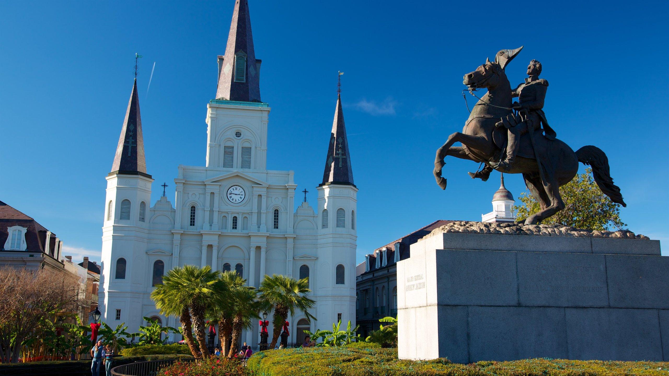 Jackson Square, New Orleans, Louisiana, United States of America