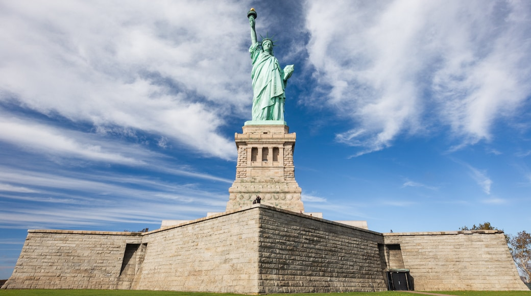 Statue of Liberty which includes a monument