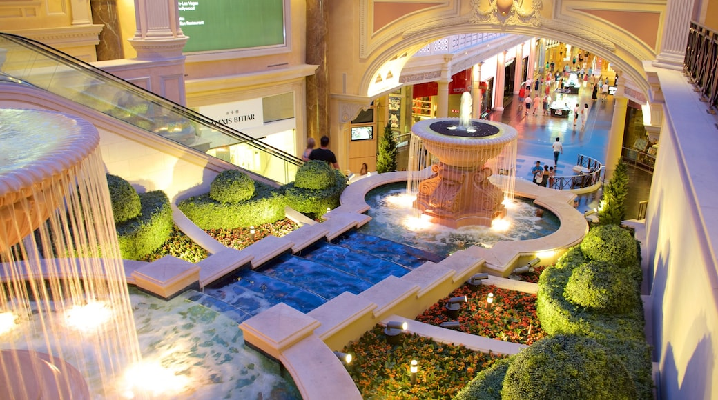 The Strip which includes interior views and a fountain