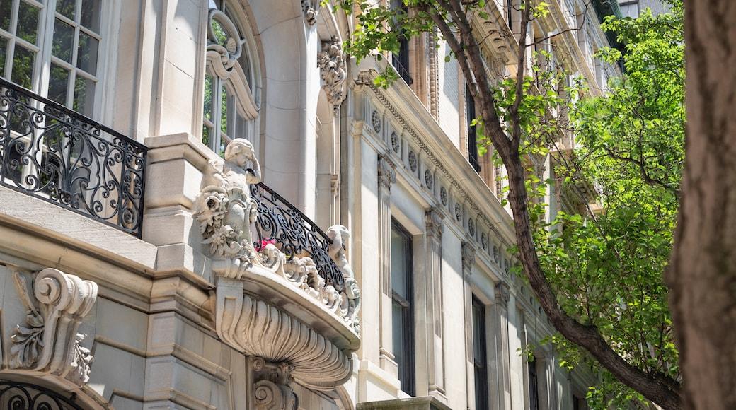 Upper East Side showing heritage elements