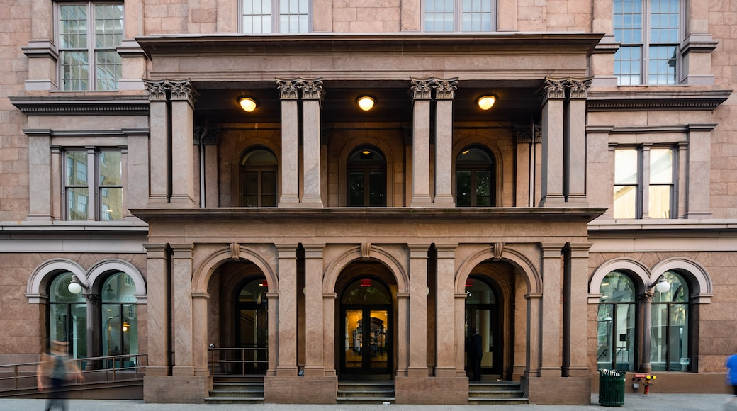 The Cooper Union for the Advancement of Science and Art featuring heritage elements