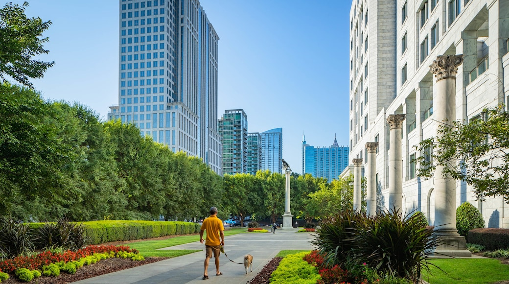 Federal Reserve Bank of Atlanta featuring a garden, a city and cuddly or friendly animals