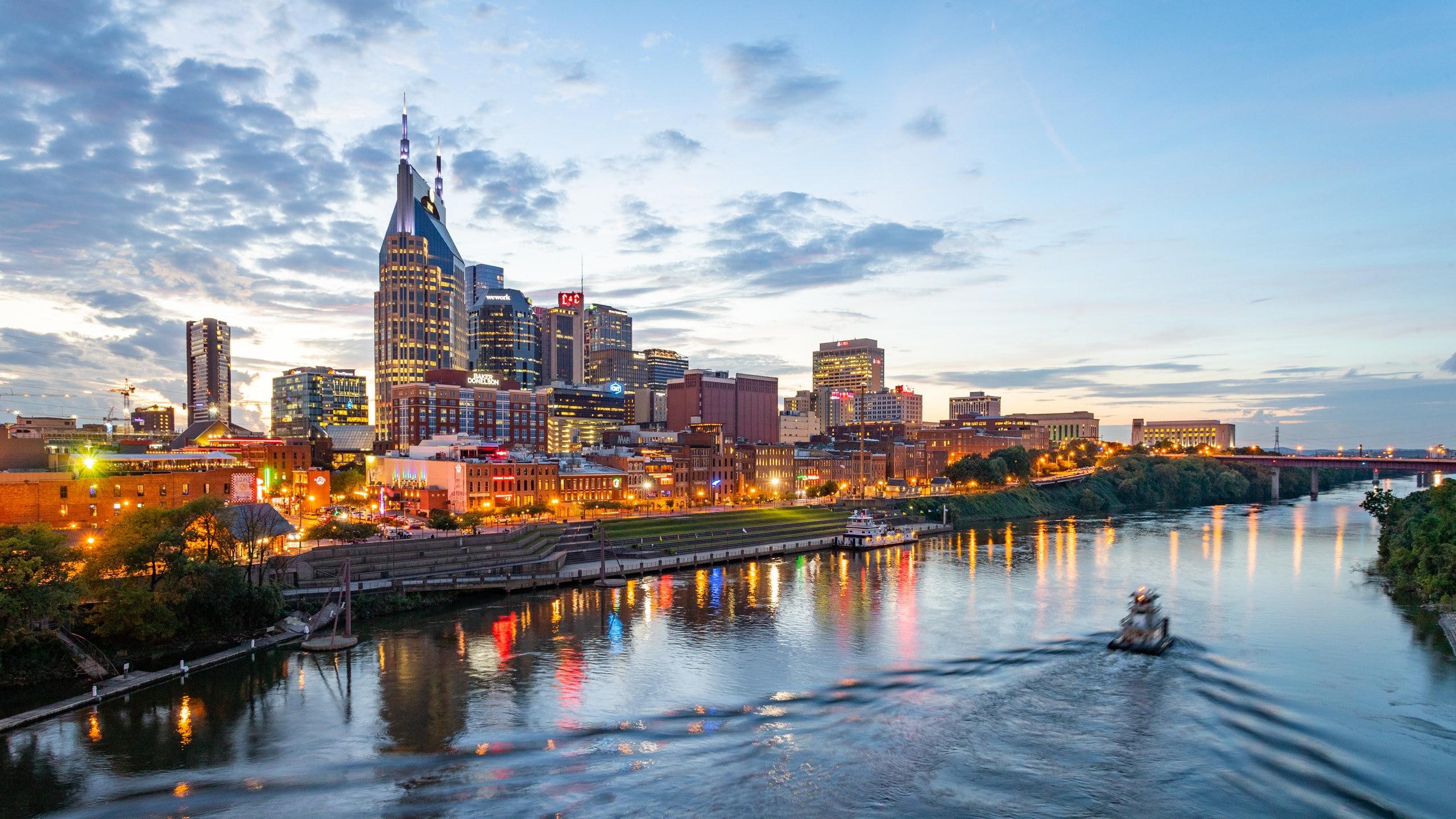 Downtown Nashville, Nashville, Tennessee, United States of America