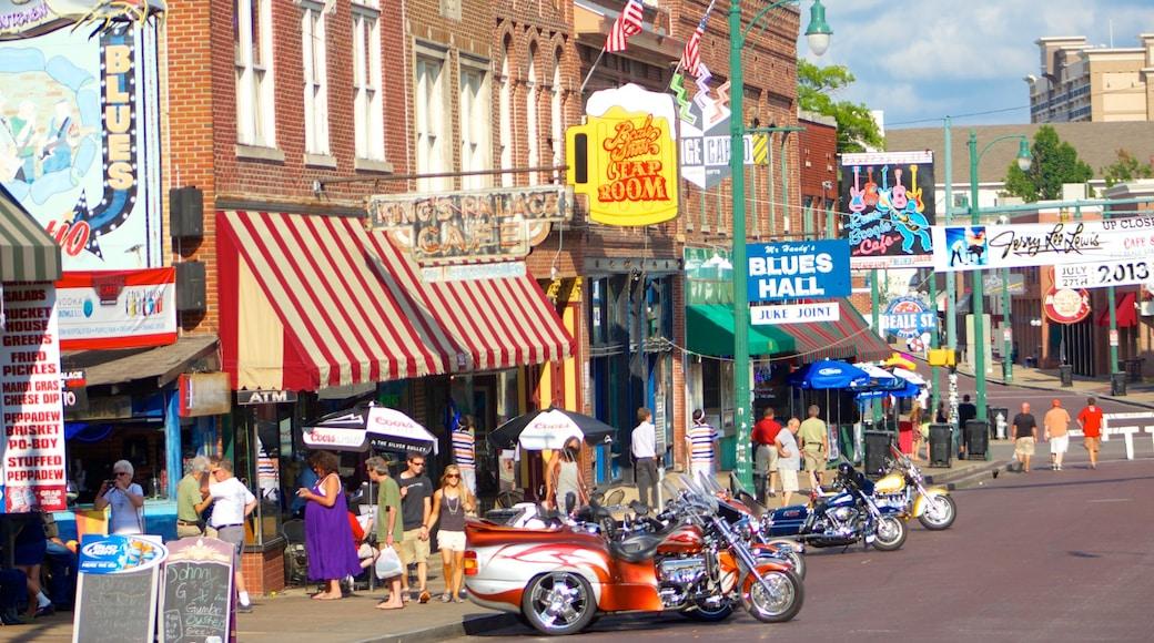 Western Tennessee showing street scenes
