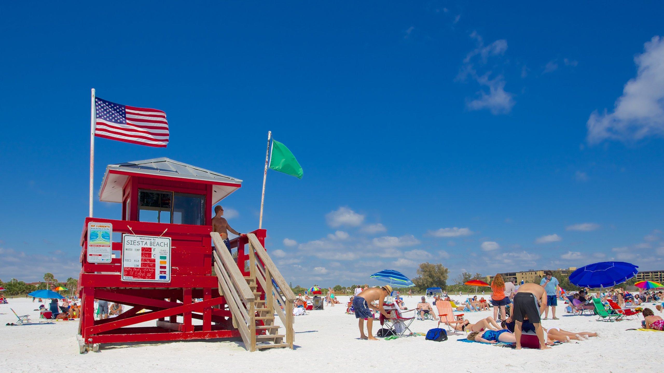 Siesta Key Public Beach, Siesta Key, Florida, USA