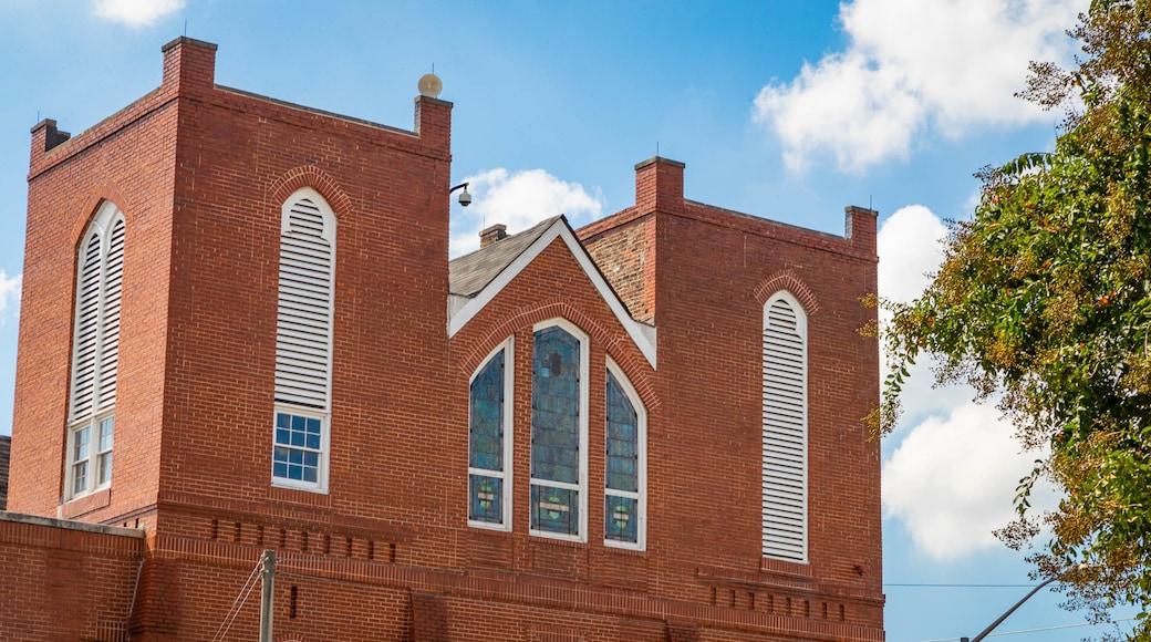 Ebenezer Baptist Church of Atlanta showing a church or cathedral