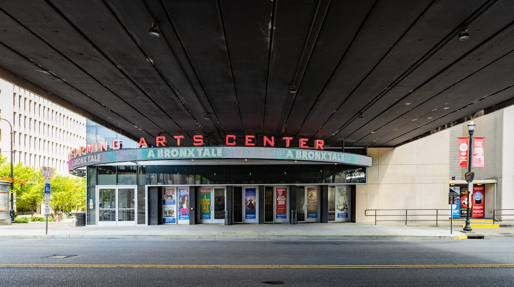 Tennessee Performing Arts Center featuring signage