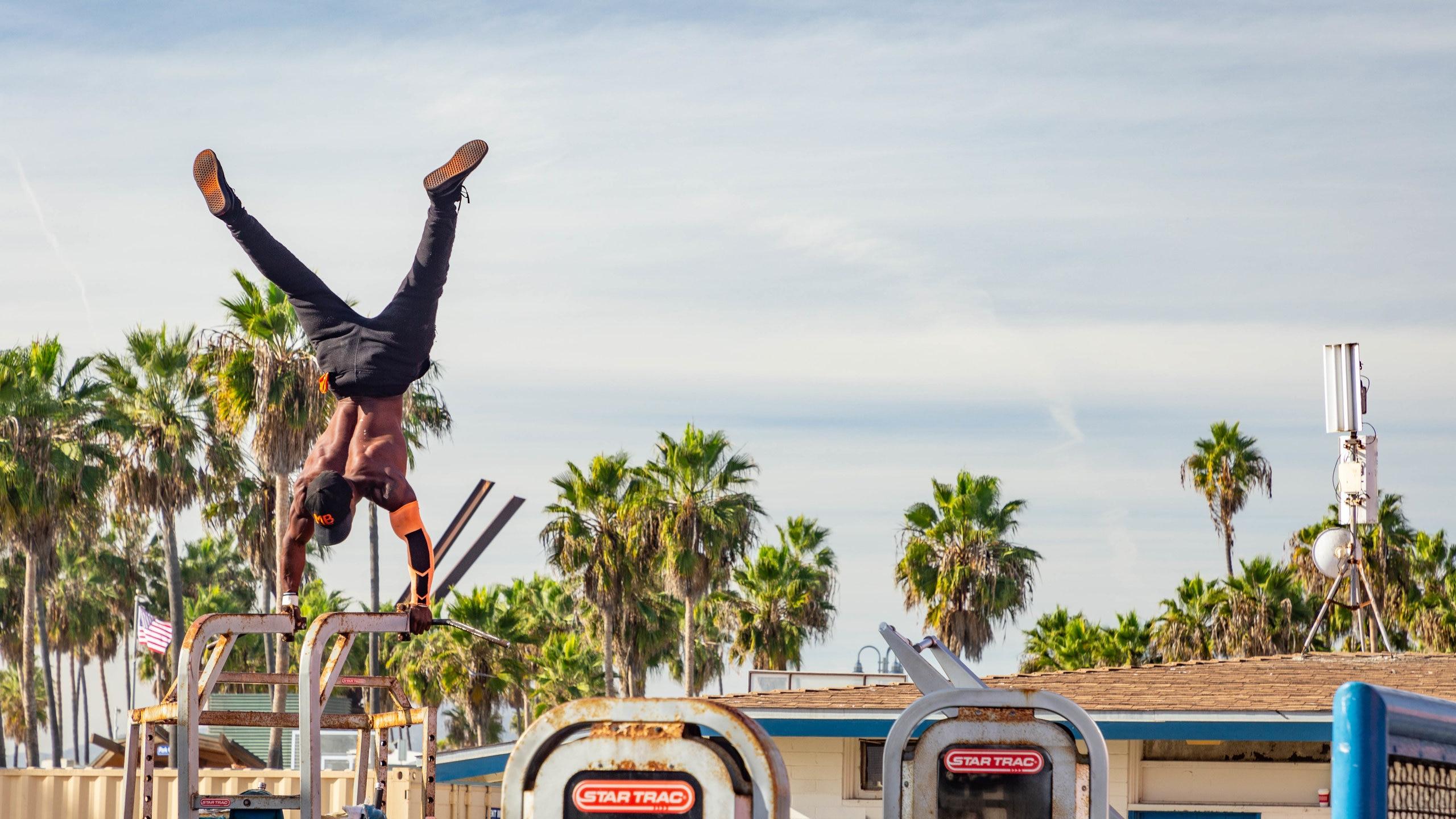 Muscle Beach Venice, Venice, Kalifornien, USA