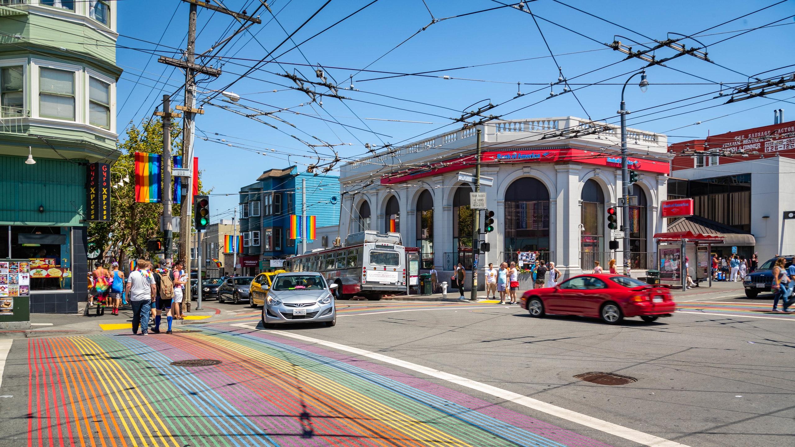 Eureka Valley, San Francisco, California, United States of America