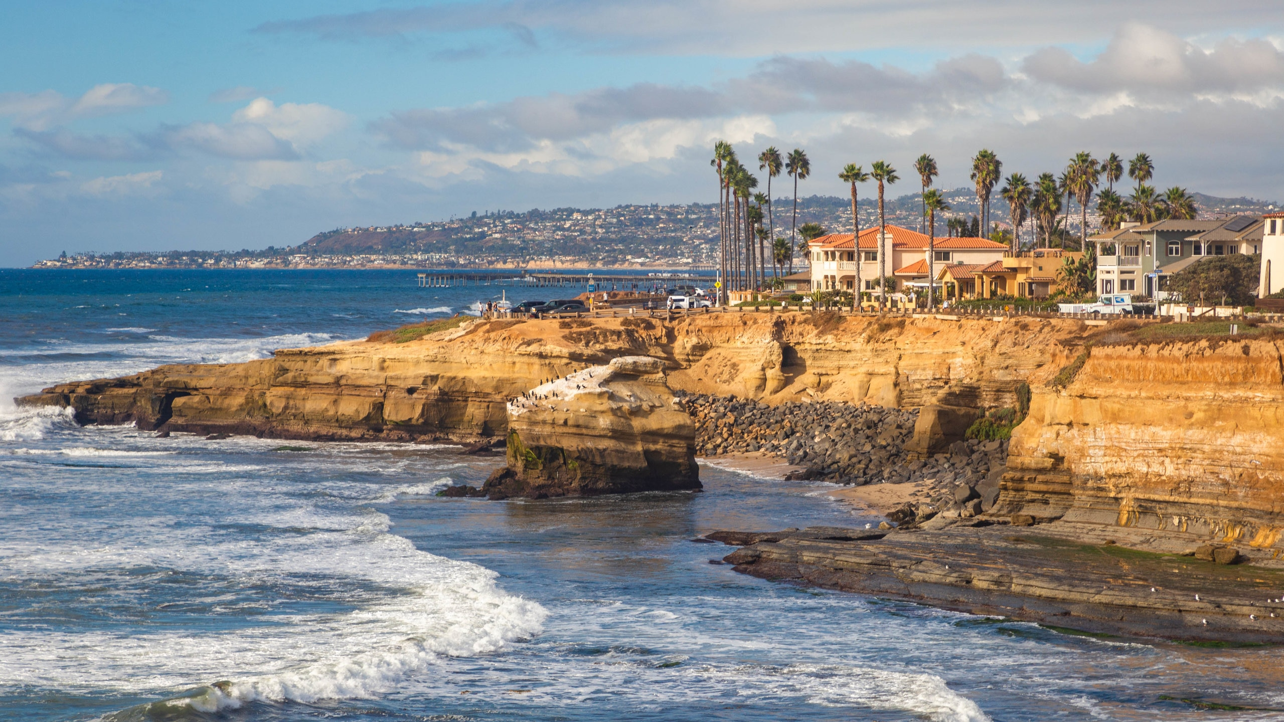 Sunset Cliffs Natural Park, San Diego, California, United States of America